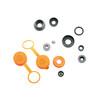 SKS Reparasjonssett for dobbelthodede pumper til doble pumpehoder Grå/Orange